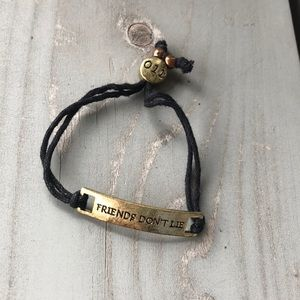 Stranger Things 'Friends Don't Lie' bracelet